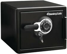 Sentry Safe Box Black Combination Fire-Resistant Waterproof Steel Security Home