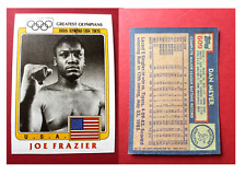 Topps Error~ 1983 Olympians Joe Frazier -'84 Topps Baseball Back Dan Meyer