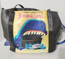 Disney Harvey's 60th anniversary Poster Tote Storybook Land Blue Whale