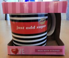 Valentine's Just Add Sugar Ceramic Mug