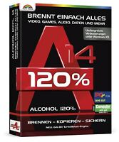 Alcohol 120% - Version 14 - Brennt einfach alles - Download Version