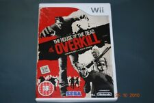 The House Of The Dead Overkill Nintendo Wii Pal Reino Unido