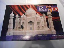 PUZZ 3D TAJ MAHAL 1996 MILTON BRADLEY -- 1077 PCS JIGSAW PUZZLE NICE SHAPE