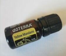 (1) ~  Doterra ~ Yellow Mandarin Essential Oil 5 ml New Sealed expires 2024