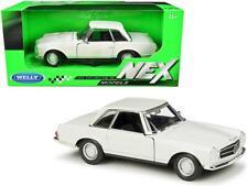 "1963 Mercedes Benz 230SL Coupe Cream ""NEX Models"" 1:24 Model - Welly - 24093CRM"