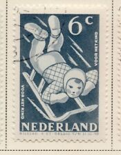 Netherlands 1948-49 Early Issue Fine Used 6c. NW-11727