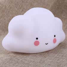 Kinderbaby Lovely Niedlich Wolke LED-Licht Nachtlichtlampe Dekor Beweglich .