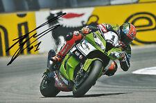 Tom Sykes Hand Signed Kawasaki Racing 2014 12x8 Photo.