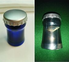 20 x Push Down Bottle Openers 10 Black/Sil & 10 Blue/Sil - Bar Beer Soda NIB