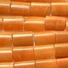 Aventurine 18x13mm Peach Rectangle Semi Precious Stone Q20 Beads per Pkg