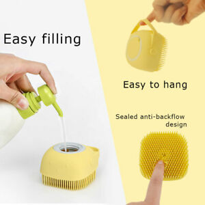 Baby Silicone Bath scalp Brush/massager Soft Child Shower Brush Cradle Cap UK!