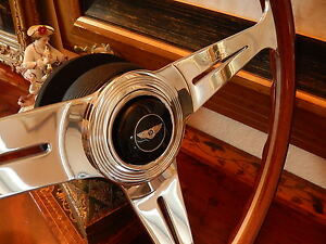 "Bentley Turbo R Wood Steering Wheel 1985 - 89  Nardi 15.3"" NEW"