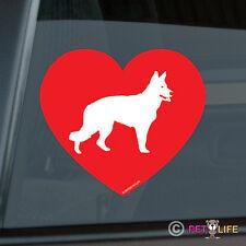 Love German Shepherd Sticker Die Cut Vinyl