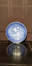 Bing and Grondahl Mother's Day Plate 1982 Lioness & Cubs