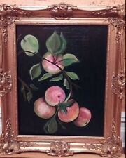 REALISM FRAMED OIL ON CANVAS PAINTING OF STILL LIFE