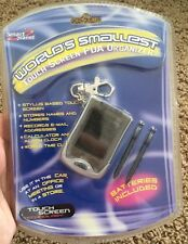 Smart Planet Worlds Smallest Touch Screen Pda New Sealed Palm Pilot