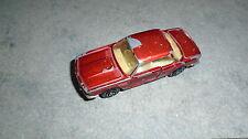 voiture majorette BMW 3l 3.0 Litres cs rouge métal made in france