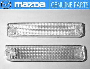 NEW!!MAZDA 1989-1992 RX-7 FC3S Corner Turn Signal Lens  OEM JDM Park  Lamp Light