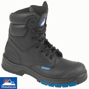HIMALAYAN HYGRIP 5162 LEATHER COMBAT SAFETY BOOTS BLACK S3 SRC  UK SIZE 7
