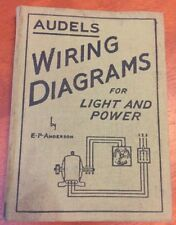 Audels Wiring Diagrams For Light and Power Hardcover 1948 by Edwin P. Anderson