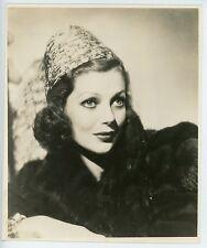 LORETTA YOUNG – STUNNING PORTRAIT – ORIGINAL 1940s PRESS PHOTO – EXCELLENT