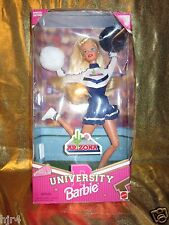 Arizona Wildcats Ua Barbie Universität Cheerleader Jubel Puppe Neu