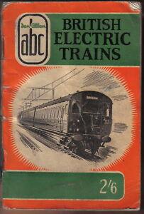 abc British Electric Trains Ian Allan abc book 1958 Pub 776/253 only fair cond.