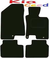 Tailored Deluxe Quality Car Mats Kia Ceed 2012-2017 ** Black ** Hatchback Estate