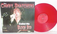 CANDY SNATCHERS Color Me Blood Red Live and More LP Garage Punk Vinyl