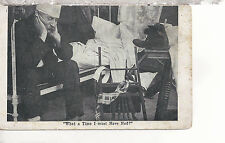 """""""What a Time I Must Have Had?""""  Man With A Hangover  Mailed 1912   Postcard 3127"""
