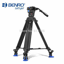 Benro Bv6 Professional Video Tripod Kit With 3 Legs Sections