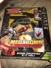Air Hogs RC Megabomb Heli - Bomb Dropping RC Helicopter Grey