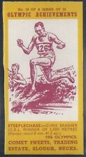 COMET SWEETS-OLYMPIC ACHIEVEMENTS PACKAGE ISSUE-#10- STEEPLECHASE - BRASHER