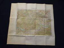 Mappa di Europa centrale 1:300 000, o 49 Budejovice, Znaim, St. Pölten, 1940