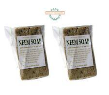 NEEM SOAP - Handmade - 2 oz each - Lot of 2 - FAST SHIPPING!!!
