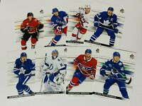 2019-20 SP AUTHENTIC BASE CARDS 1-100 YOU PICK TO COMPLETE