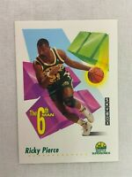 Ricky Pierce Seattle Supersonics 1992 Skybox Basketball Card Number 456