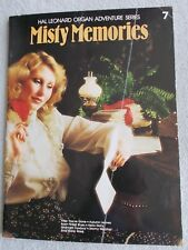 Organ Adventure Series #7 Misty Memories Pop Songs Unmarked