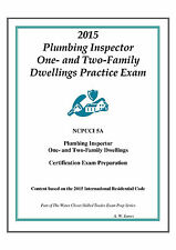 2015 NCPCCI 5A  Plumbing One & Two Family Dwelling Inspector Practice on USB