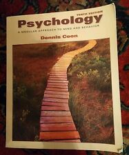 Psychology, A Modular Approach to Mind and Behavior by Dennis Coon, 10th Edition