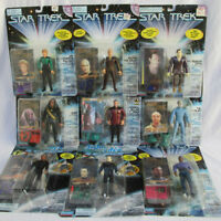 Lot of 9 Asst Star Trek Next Generation Playmates Action Figures 1994-97 NIP (#6