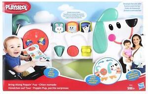 NEW HASBRO PLAYSKOOL BRING-ALONG POPPIN' PUP INFANT ACTIVITY TOY B4532