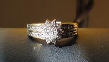 Vintage 10 k gold diamond engagement ring. Size 7