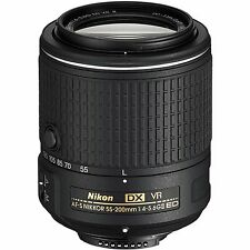 Nikon AF-S DX Nikkor 55-200 mm F4-5.6G Lente, en VR II ED London