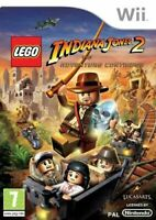 Wii & Wii U - LEGO Indiana Jones 2 The Adventure Continues **New & Sealed**