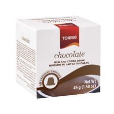 TORRIÉ CHOCOLATE Nespresso Compatible Capsules - 4 x 10 caps = 40 capsules