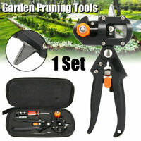 Garden Farming Pruning Shears Scissor Vaccination Fruit Kit Tree Grafting Tools