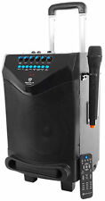 "Rockville ROCKnGo 8"" Portable Rechargable PA Speaker w Bluetooth + Wireless Mic"