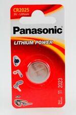 Panasonic Blister CR2025 CR 2025 DL2025 BR2025 KCR2025 LM2025 3V Lithium