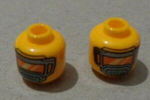 Lego - 6288606 Minifigure head  x2 **